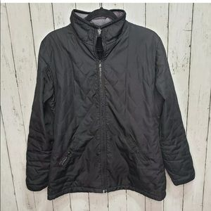 Prana quilted fleece lining jacket size L